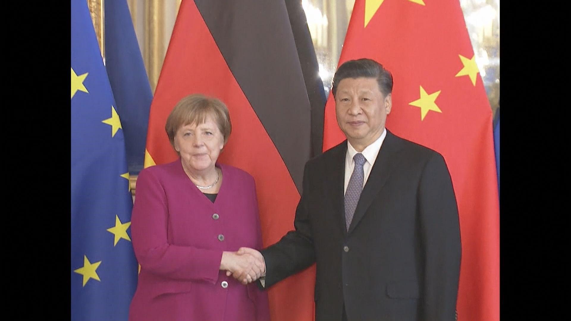 中德領導人通電話 習近平冀歐盟真正實現戰略自主