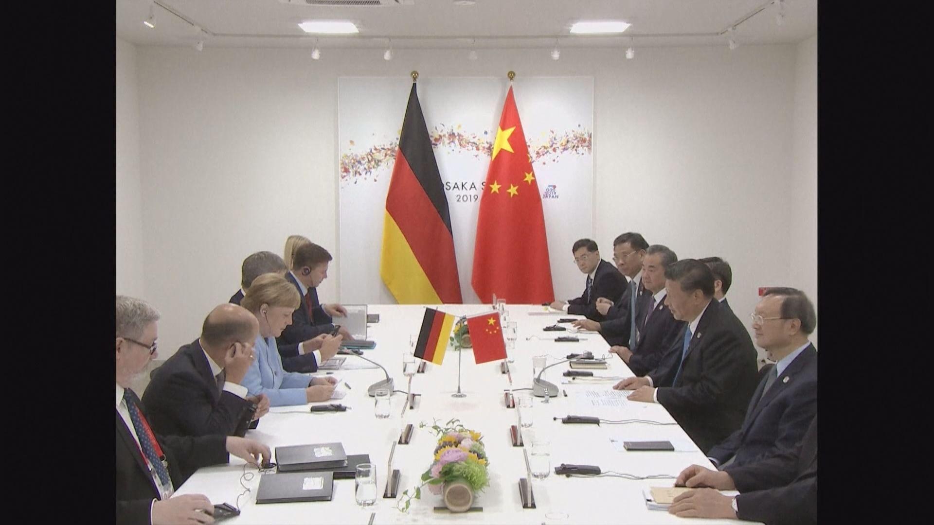 中德領袖通電話討論兩國關係及阿富汗局勢