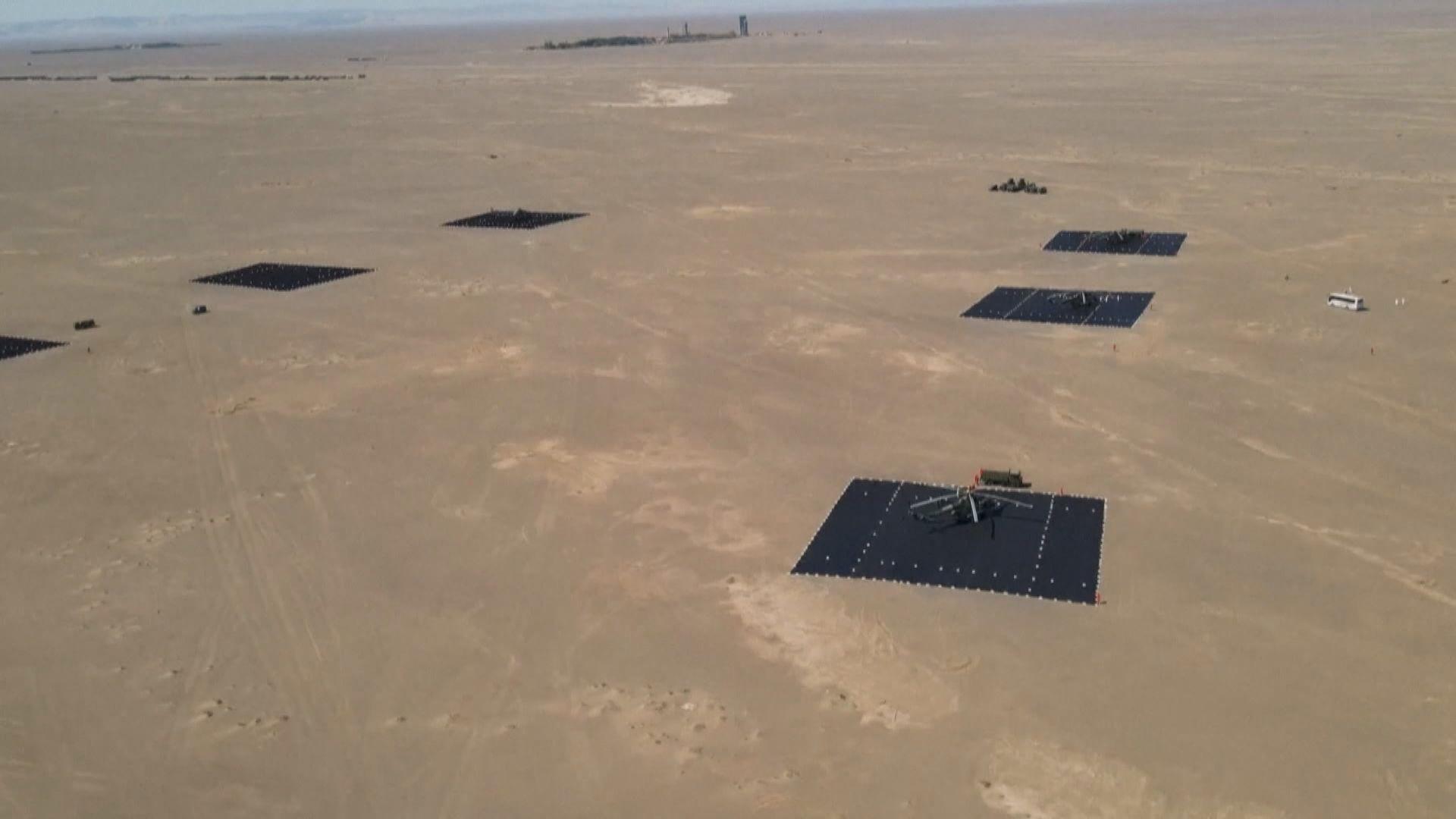 搜救隊為搜索太空人增配裝備並多次演練