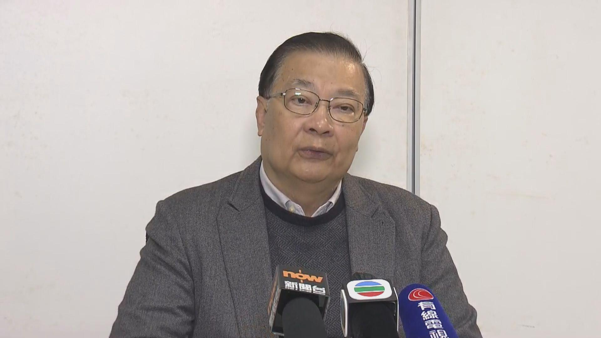 譚耀宗:張曉明行政級別無改變並非降職