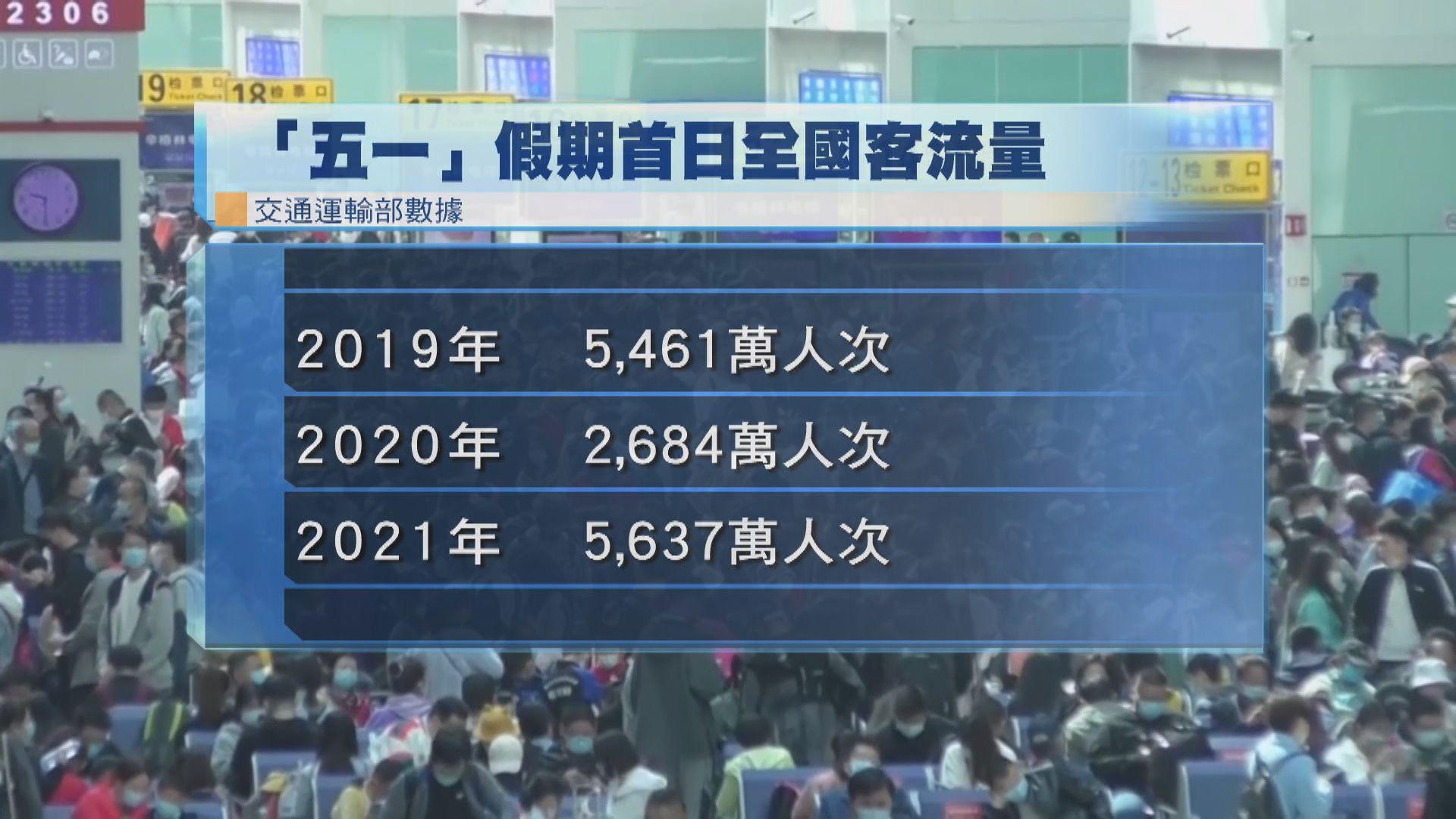 北京「五一」列車服務受阻 部分乘客通宵滯留
