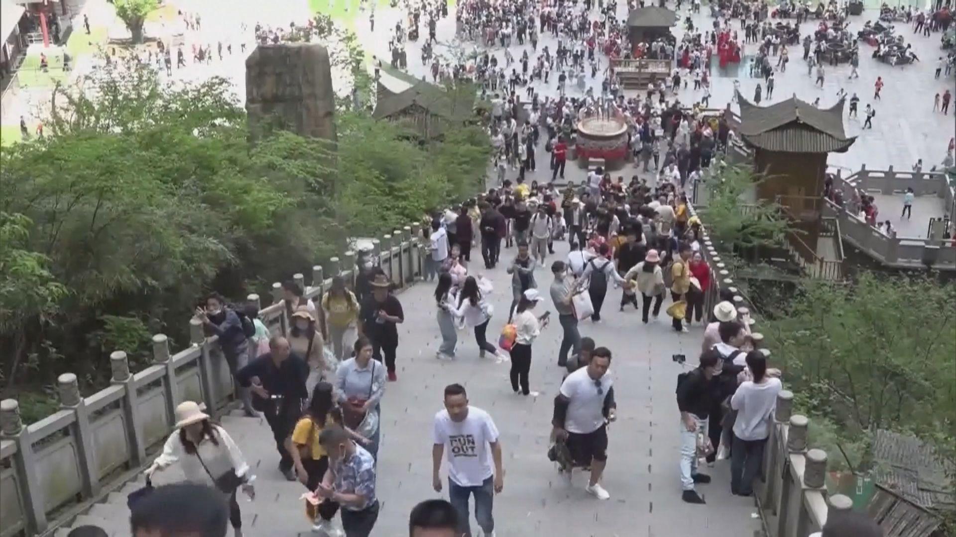 內地五一假期2.3億人出遊 旅遊收入恢復至接近疫前水平