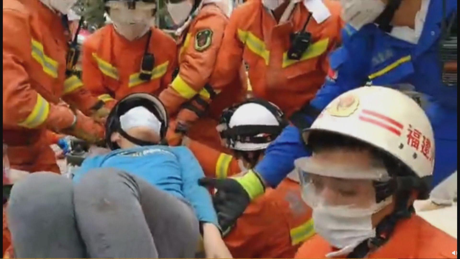 福建泉州密切接觸者隔離點酒店倒塌 至少四死五重傷