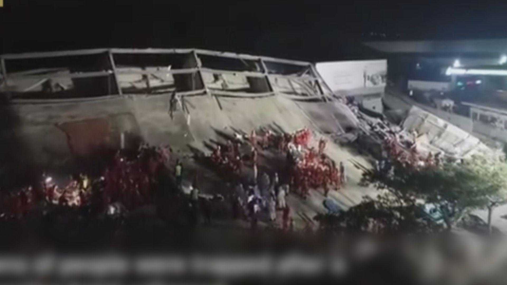 福建泉州用作隔離點酒店倒塌 增至10死