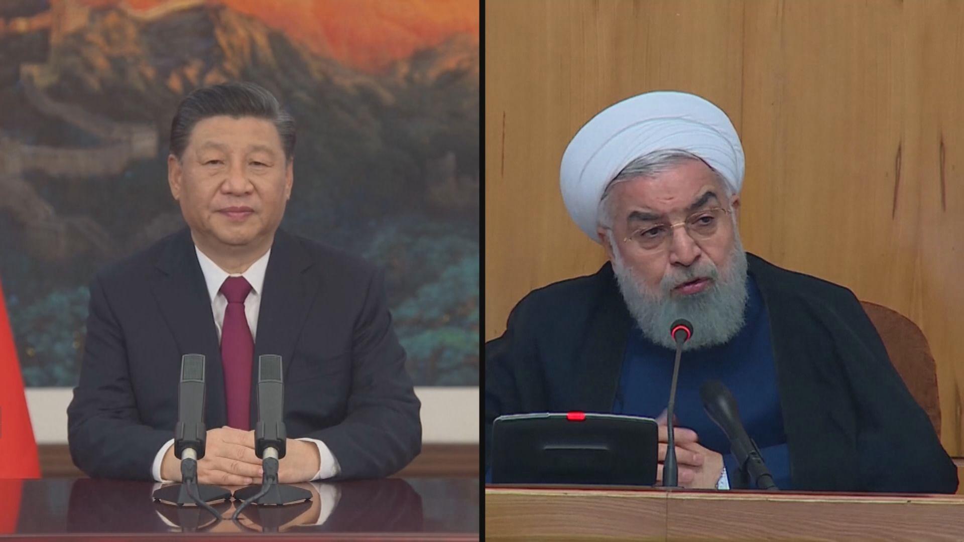 習近平稱支持伊朗在核協議問題上合理訴求