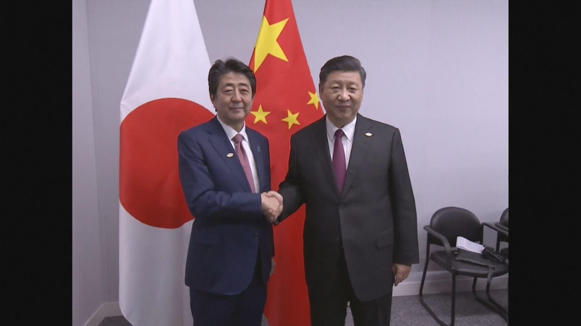 中日首腦擬於月底在大阪舉行會談