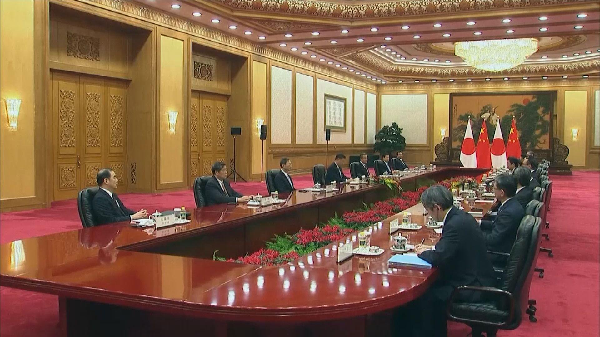 中日努力協商第五個政治文件