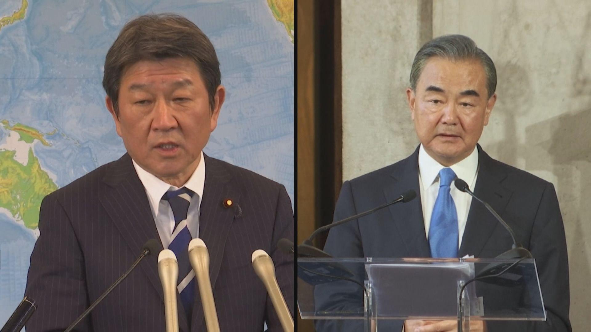 據報王毅最快下月訪問日本