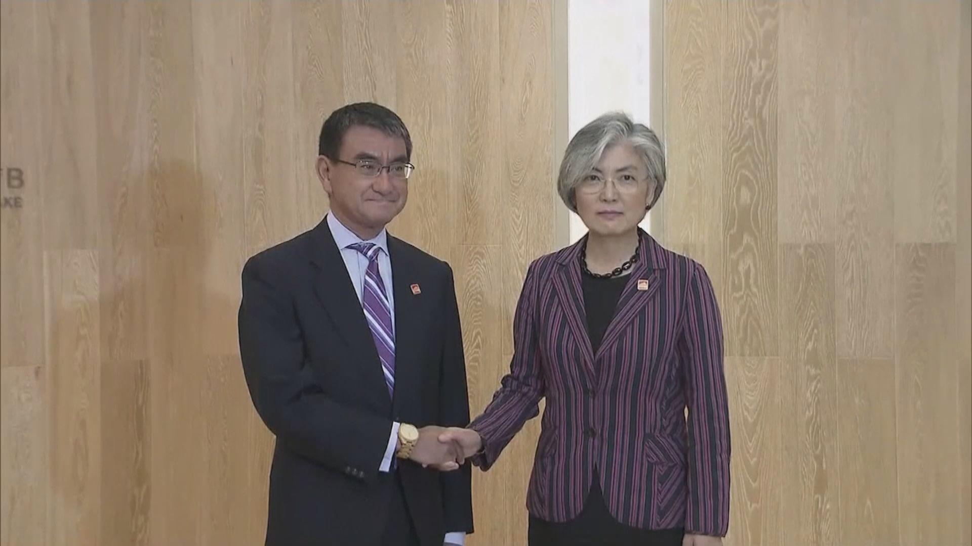 日韓外長會晤尋求化解兩國分歧