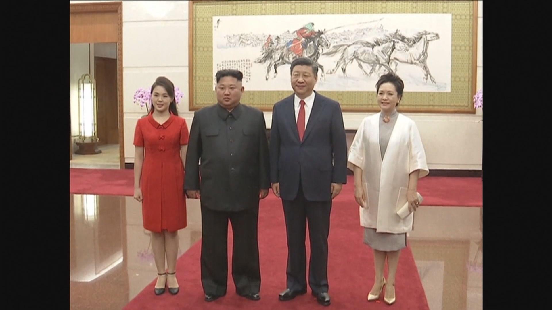 金正恩繼續訪華行程