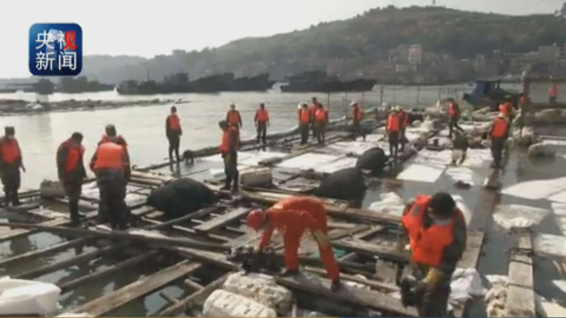 新華社指泉港受污染海域仍在清理