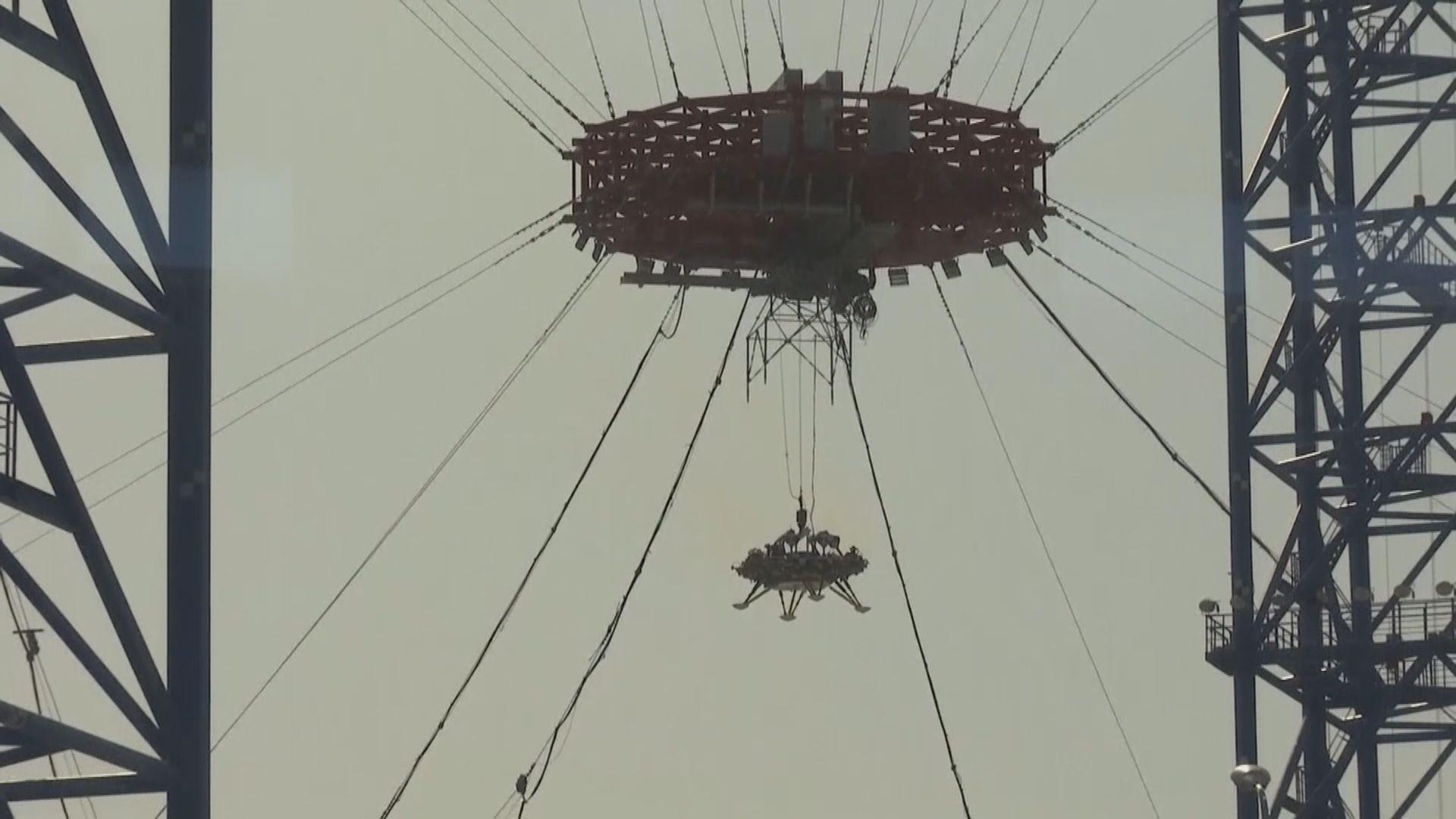 中國完成首次火星探測器懸停等試驗