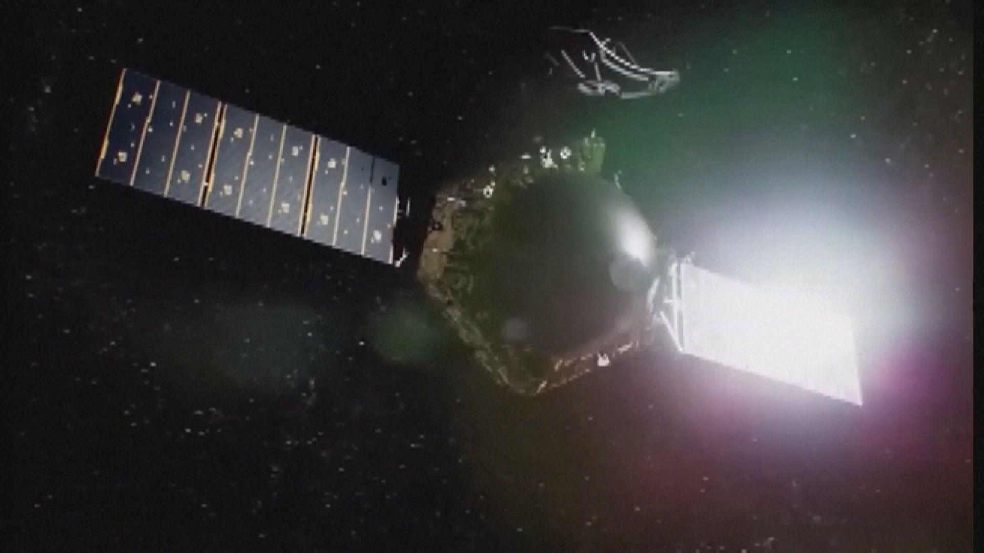 天問一號調整軌道至環繞火星兩極飛行