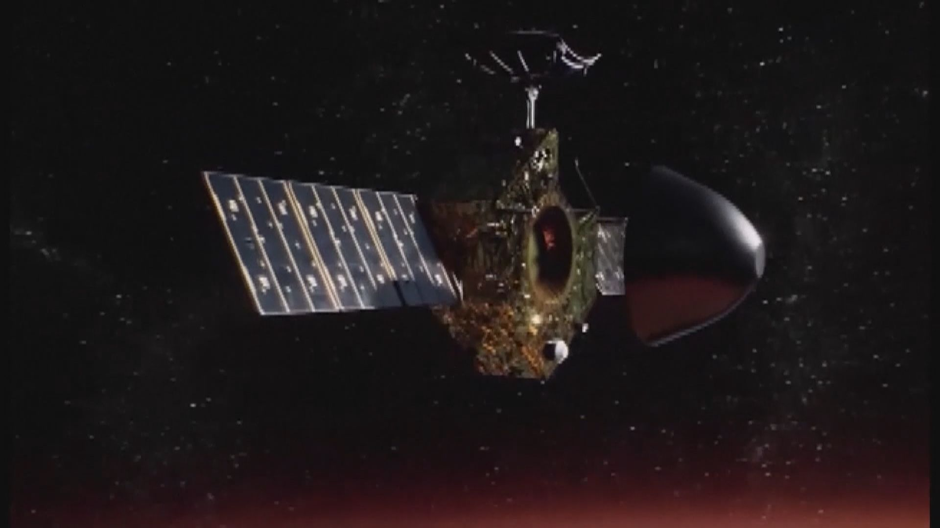天問一號傳回火星高清影像 為中國首次拍攝近景火星表面圖像