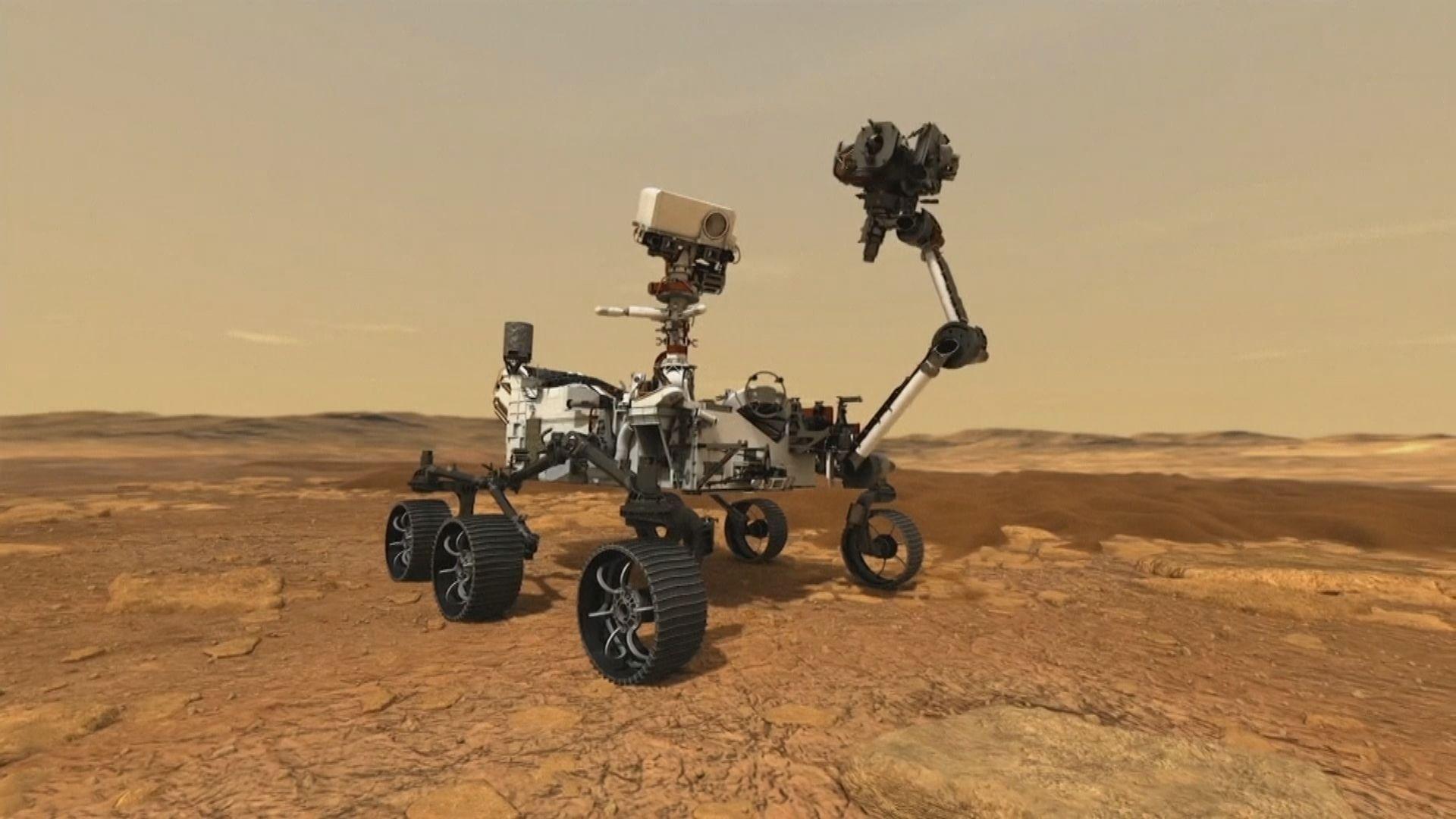 中國首個火星探測器天問一號成功著陸 祝融號火星車稍後探測表面