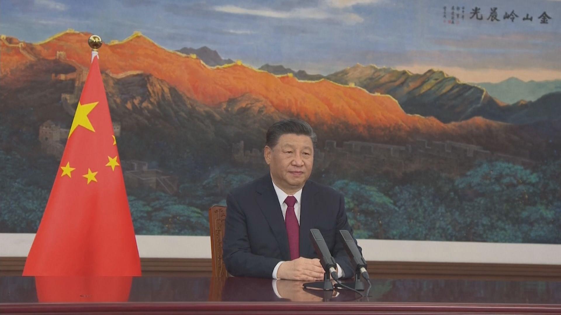 國家主席習近平祝賀天問一號成功著陸 促再接再厲