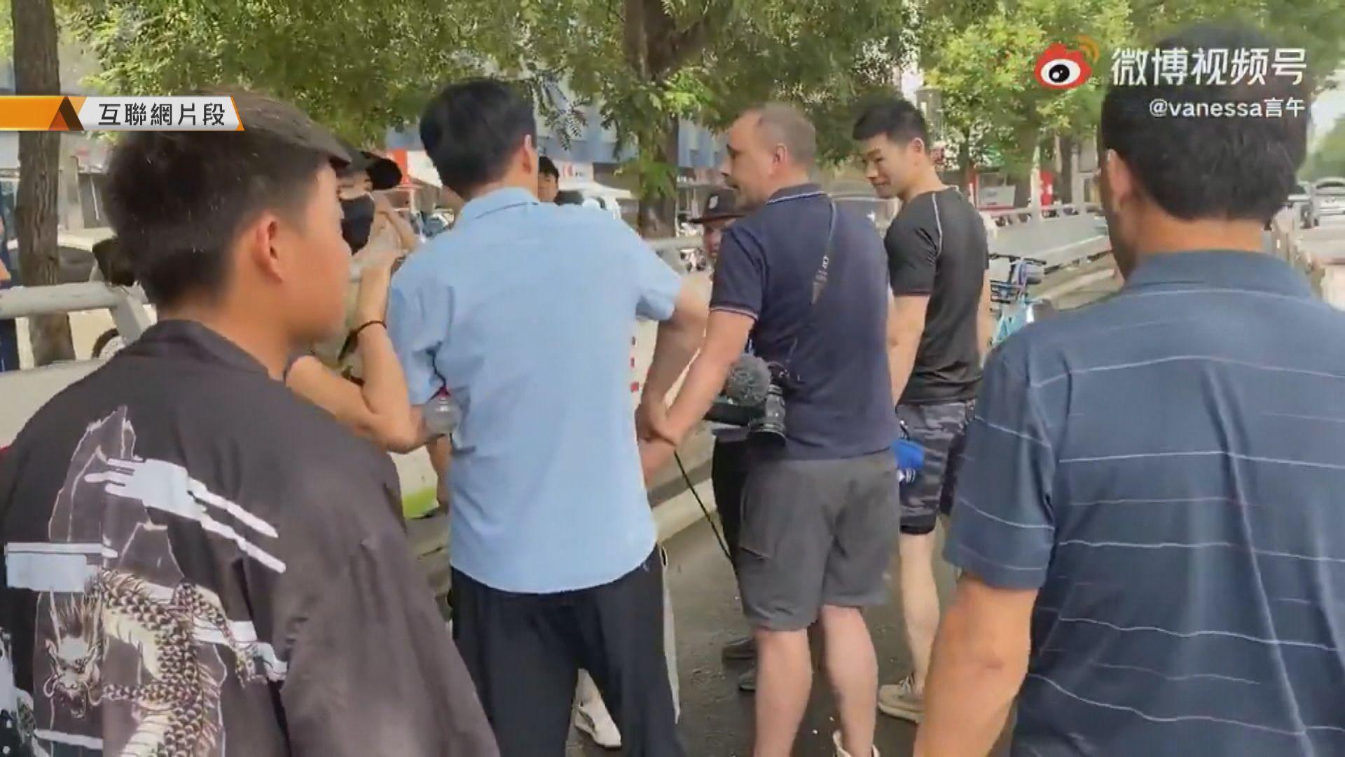 駐華外國記者協會關注外國記者採訪鄭州水災受騷擾