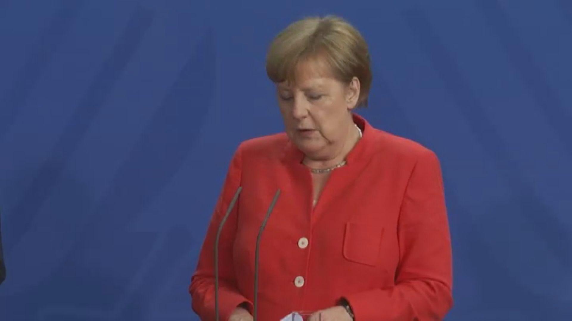 默克爾率領德國商業代表團訪華