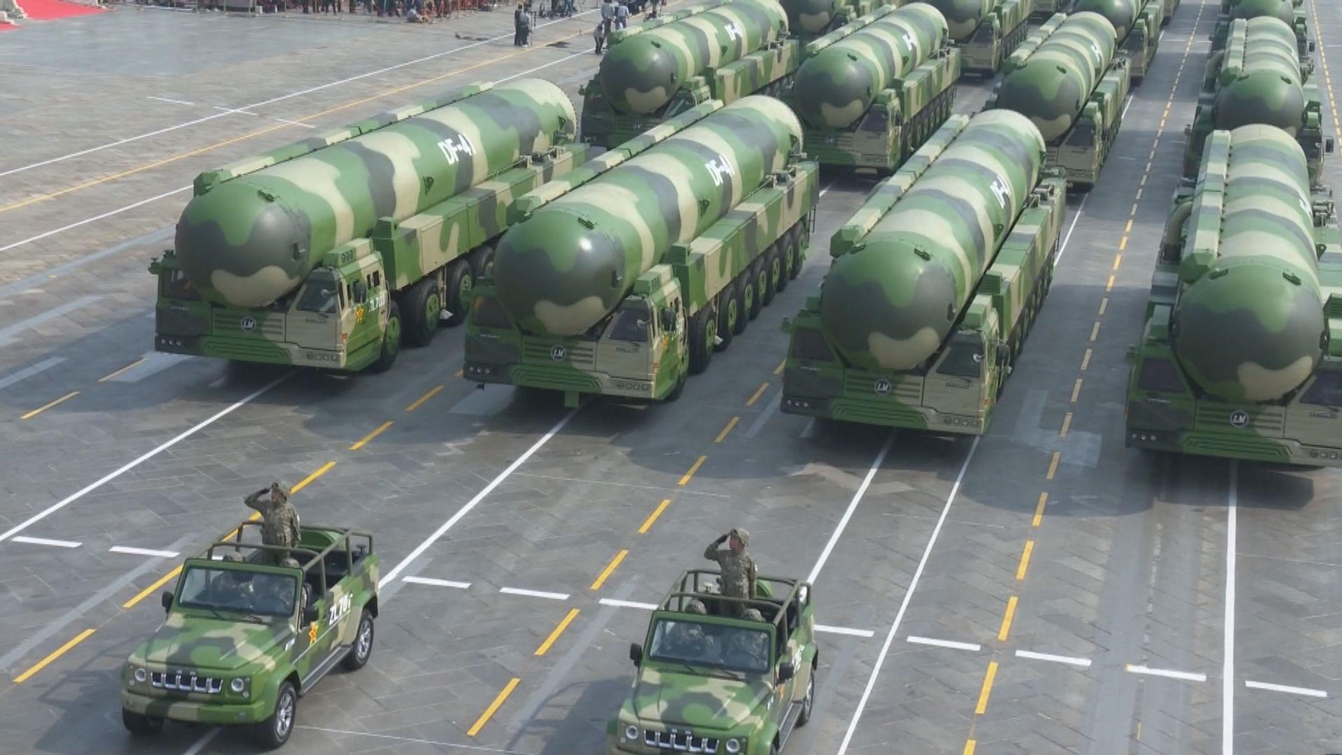 中國被指試射高超音速導彈 外交部稱是例行航天器試驗