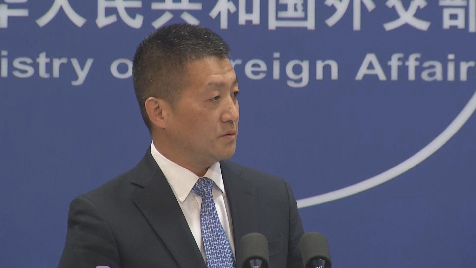 外交部:康明凱所屬國際組織沒有中國登記