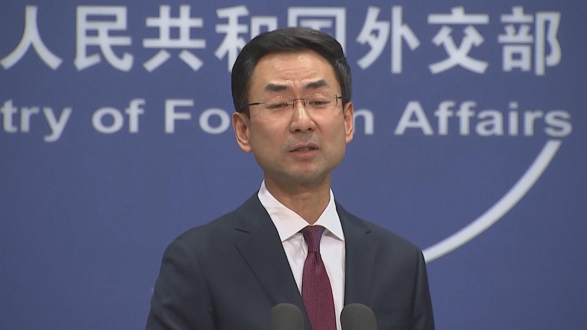 外交部:堅定支持林鄭月娥依法施政