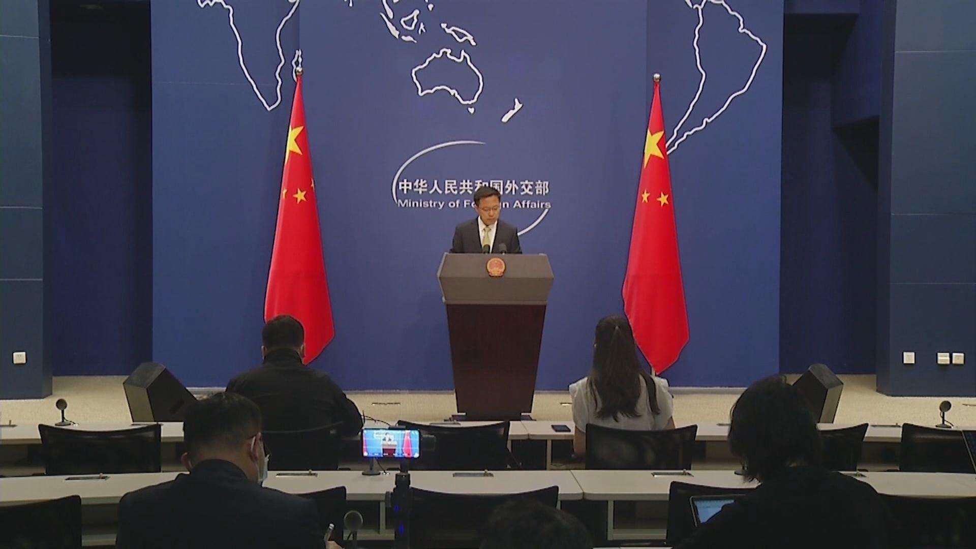 外交部:香港特區維護國家安全立法問題純屬中國內政