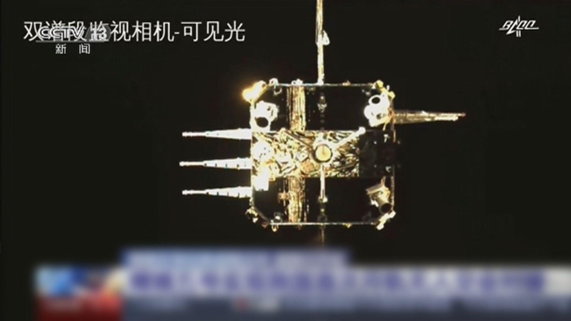 探測器嫦娥五號擇機返回地球