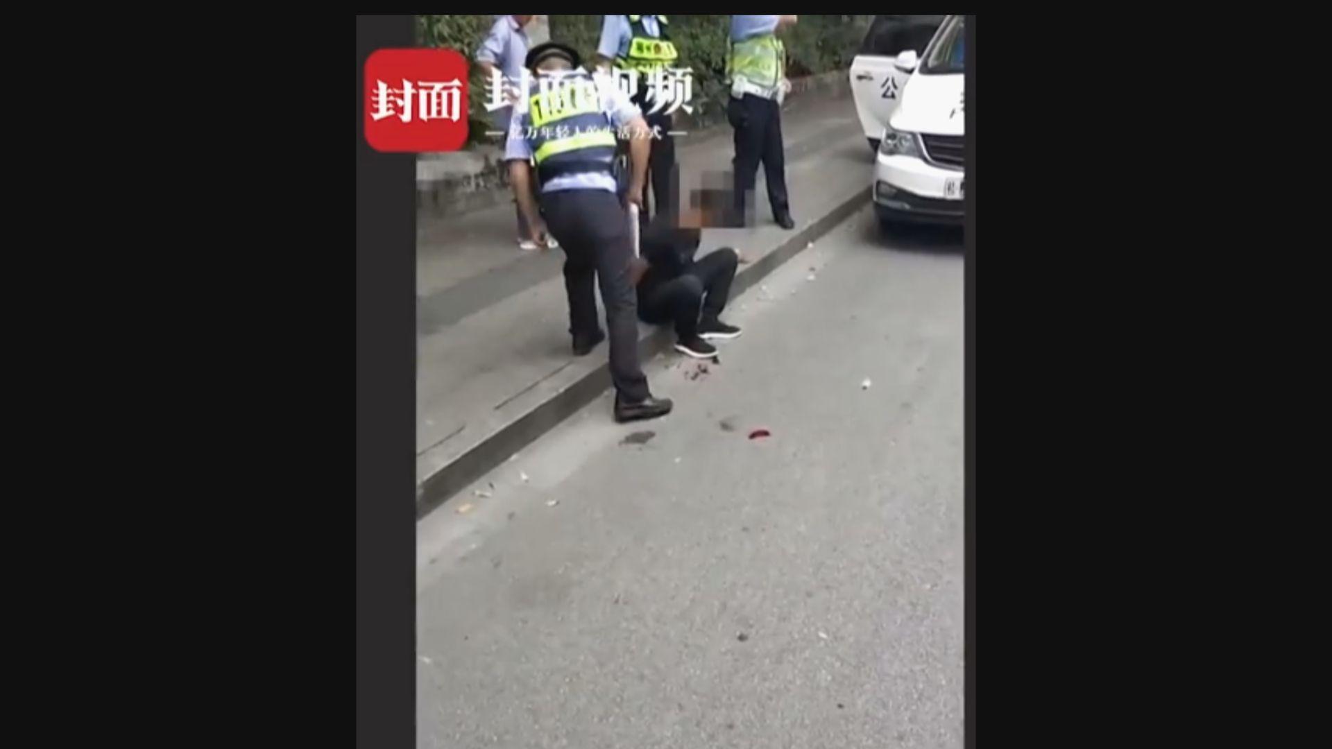 廣西男子駕車撞多輛電單車後持刀殺人