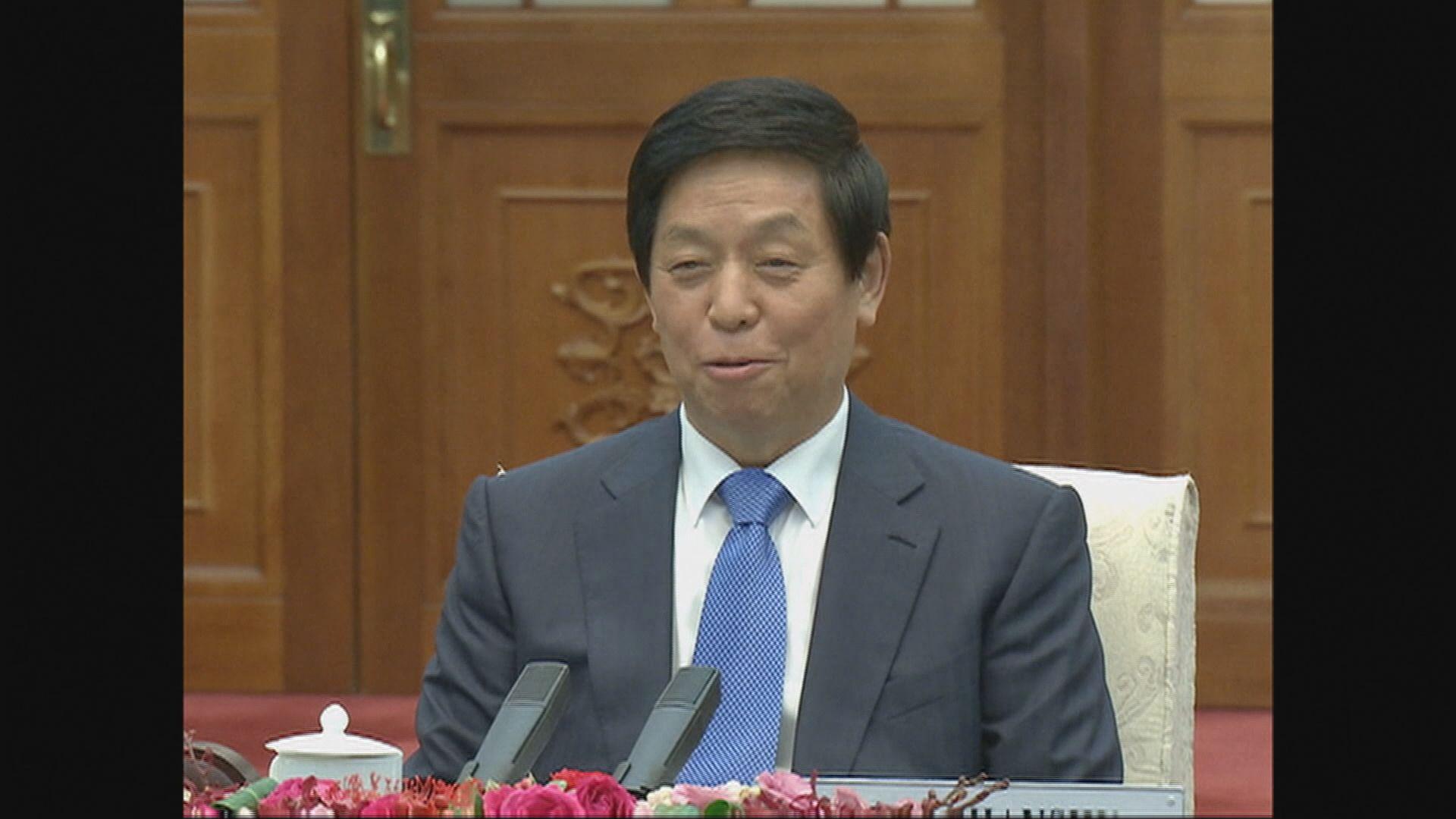 栗戰書將出席北韓建國70周年慶祝活動