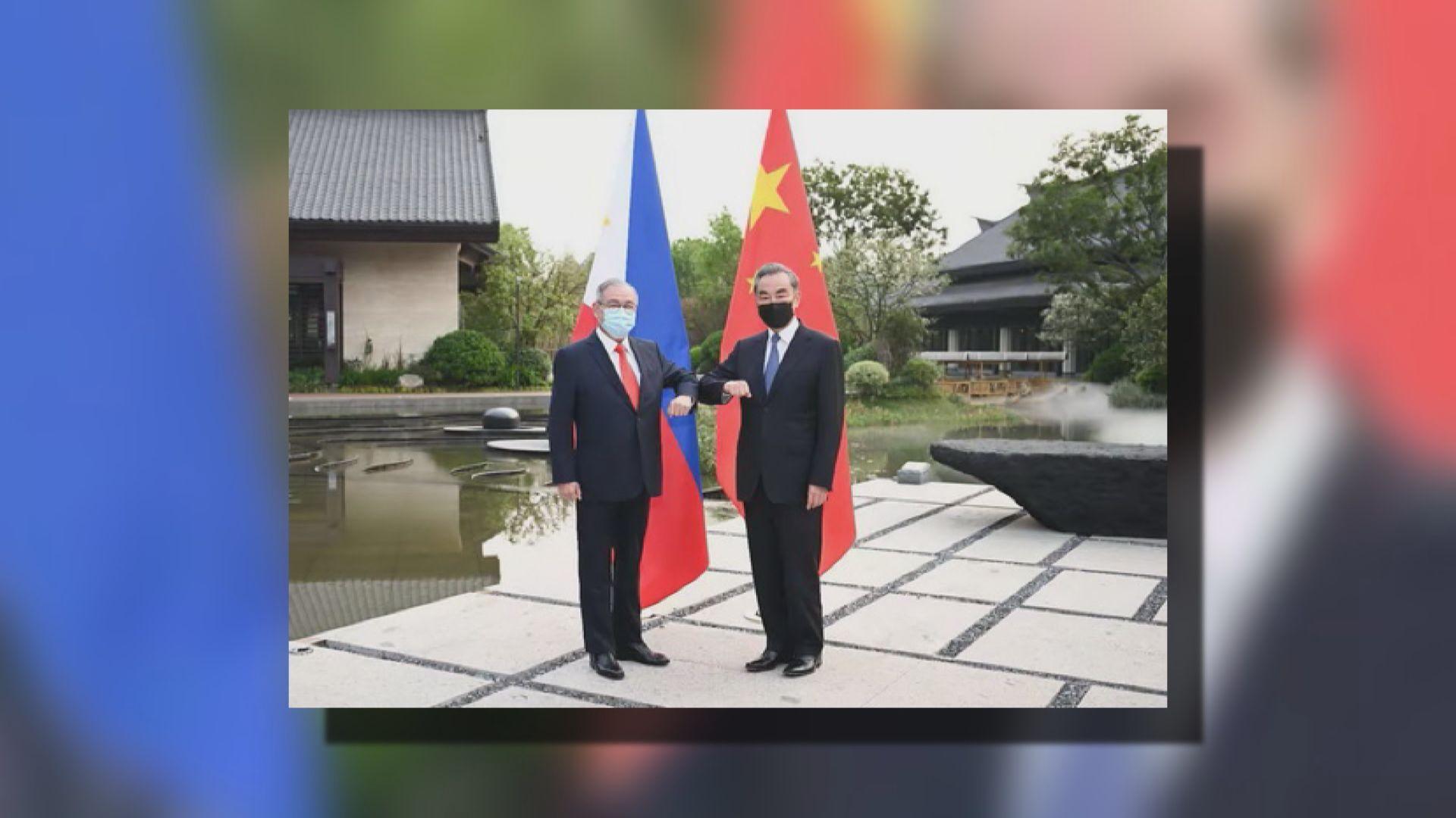 中菲外長會談討論疫情及加強與東盟合作