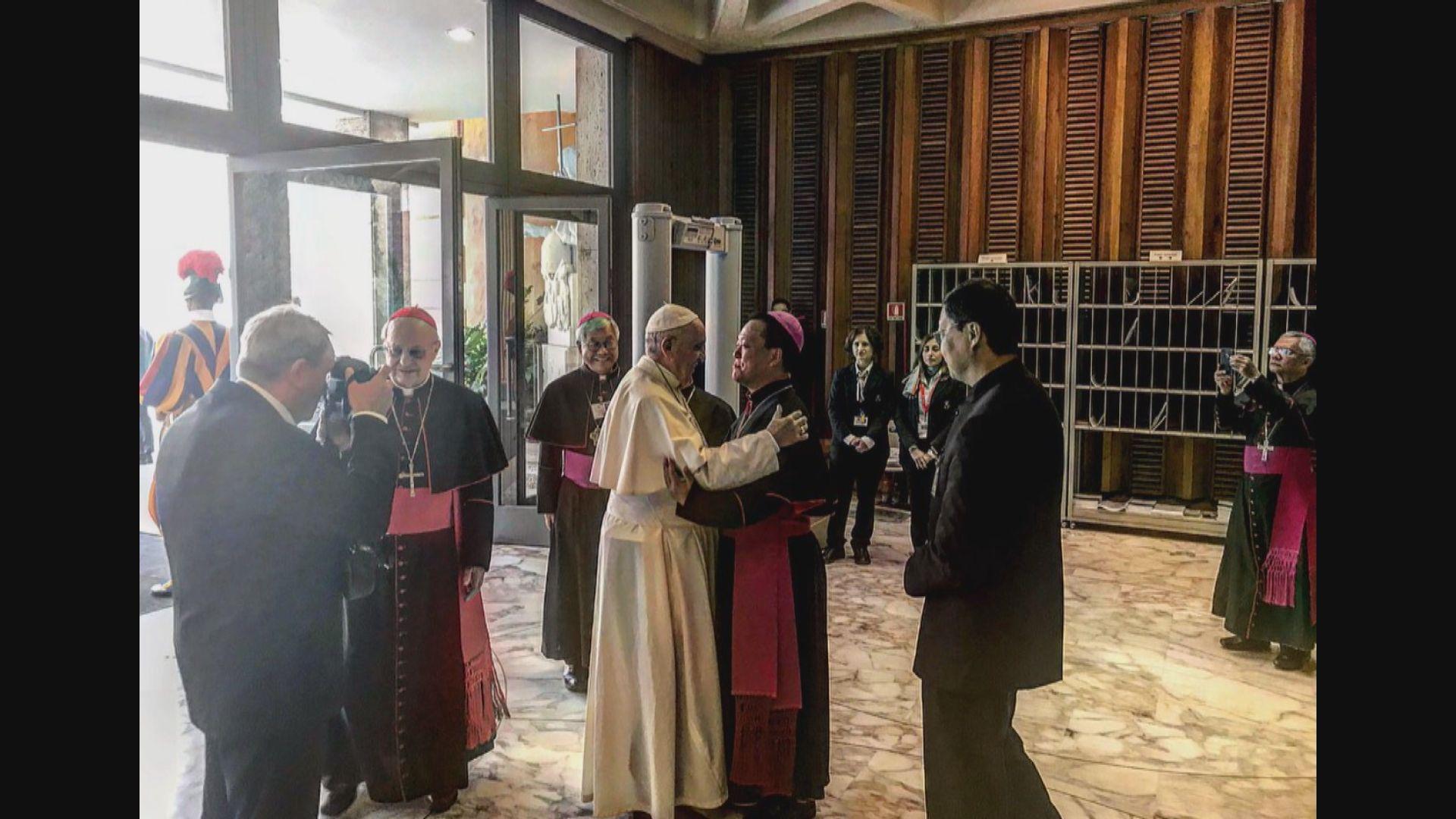 兩名中國主教邀請教宗訪華