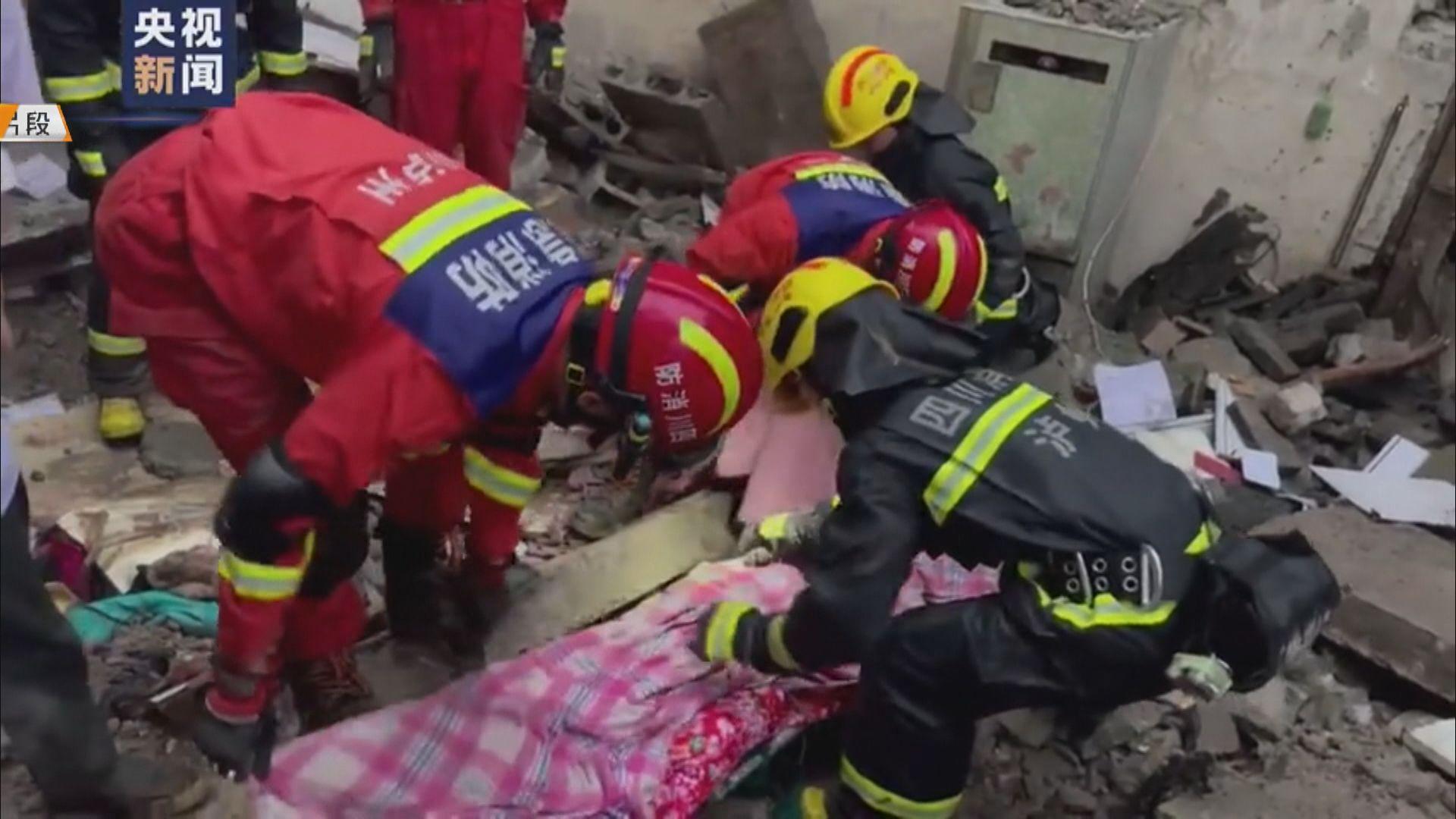 四川瀘縣發生6級地震 至少2死60傷
