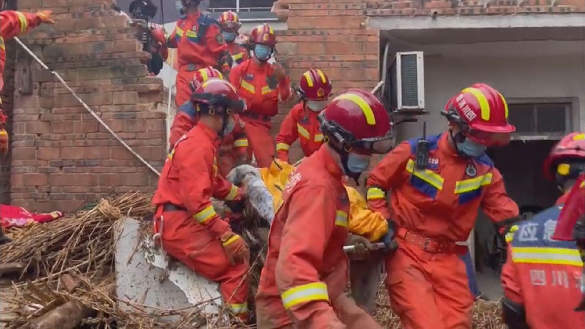四川瀘縣6級地震增至三死 中央啟動地震應急三級響應協調救災