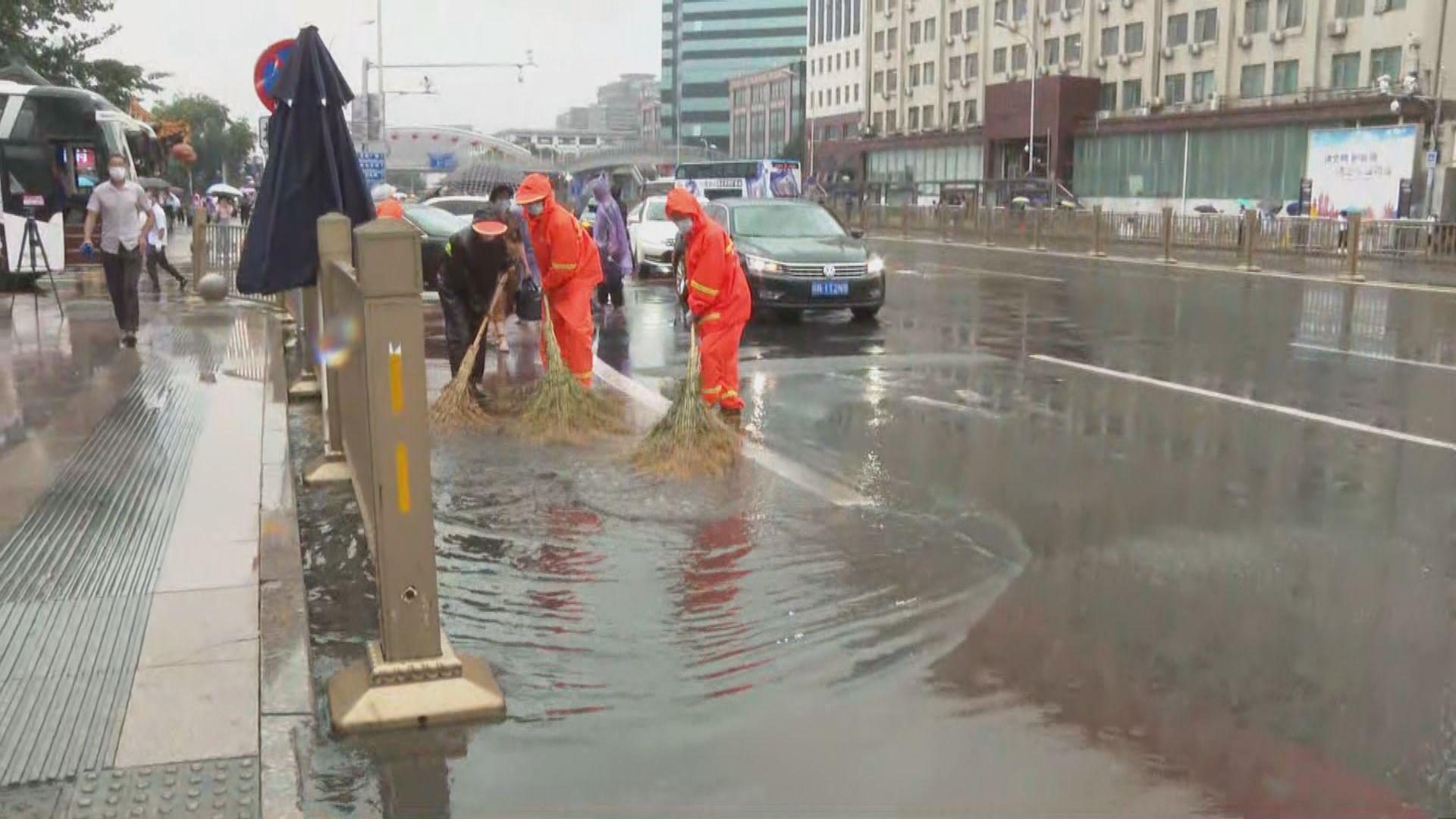 北京平均降雨量一度超過80毫米 達暴雨級別