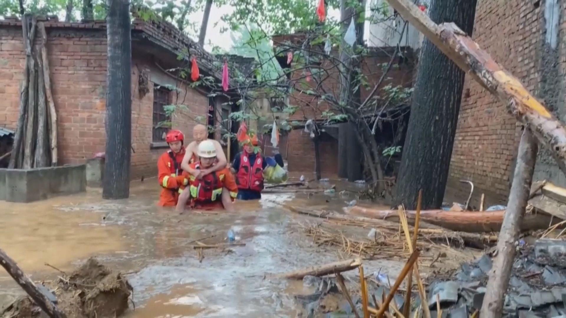 河南鄭州暴雨至少25人死亡 交通及通訊等受影響
