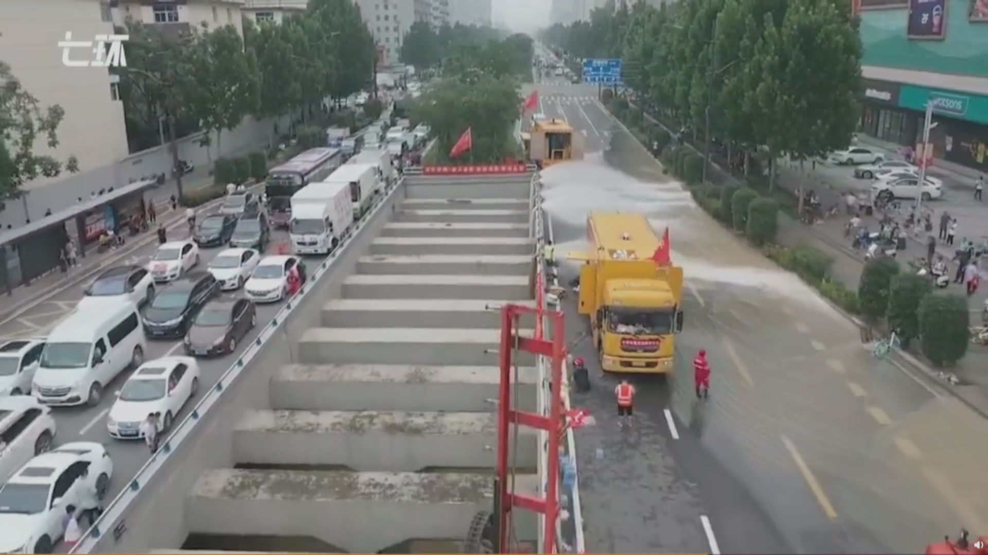 河南暴雨56人罹難 鄭州洪水陸續減退
