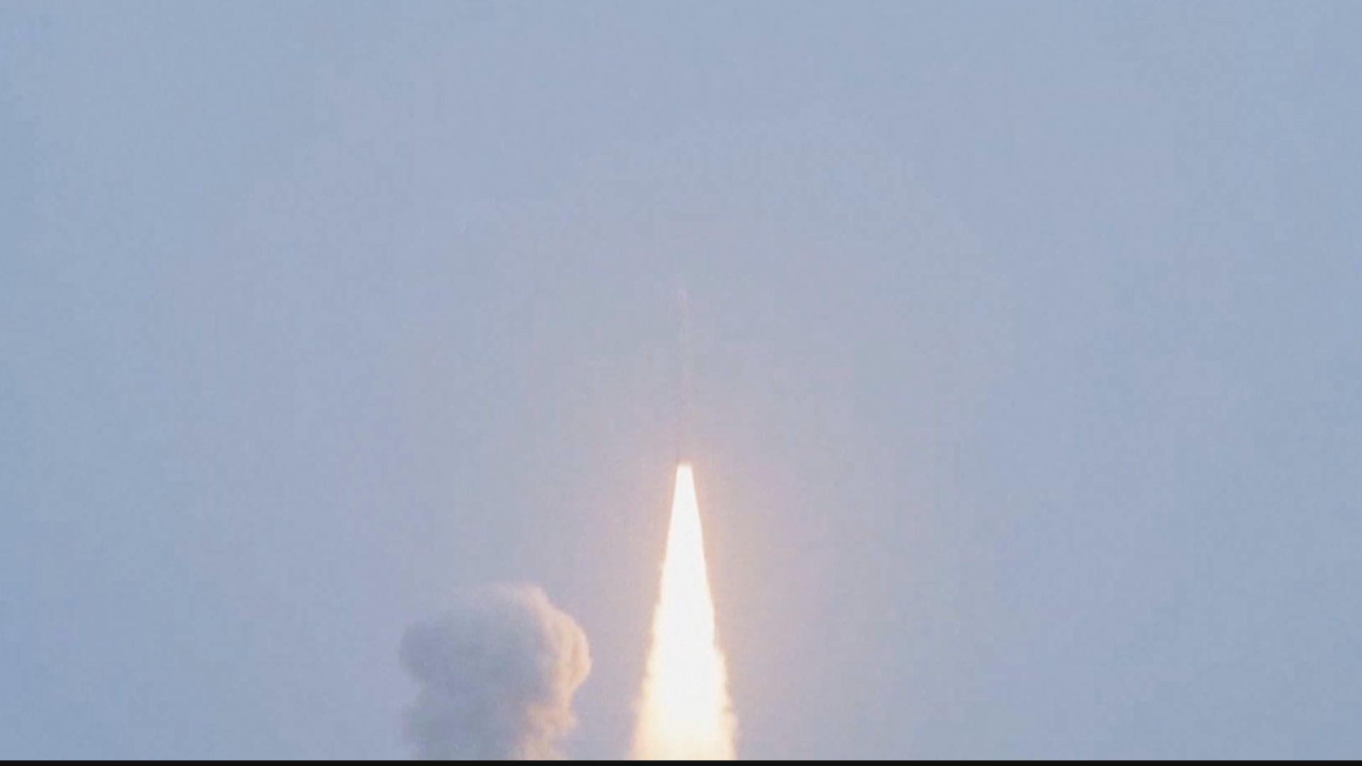 中國長征十一號火箭完成海上發射技術試驗