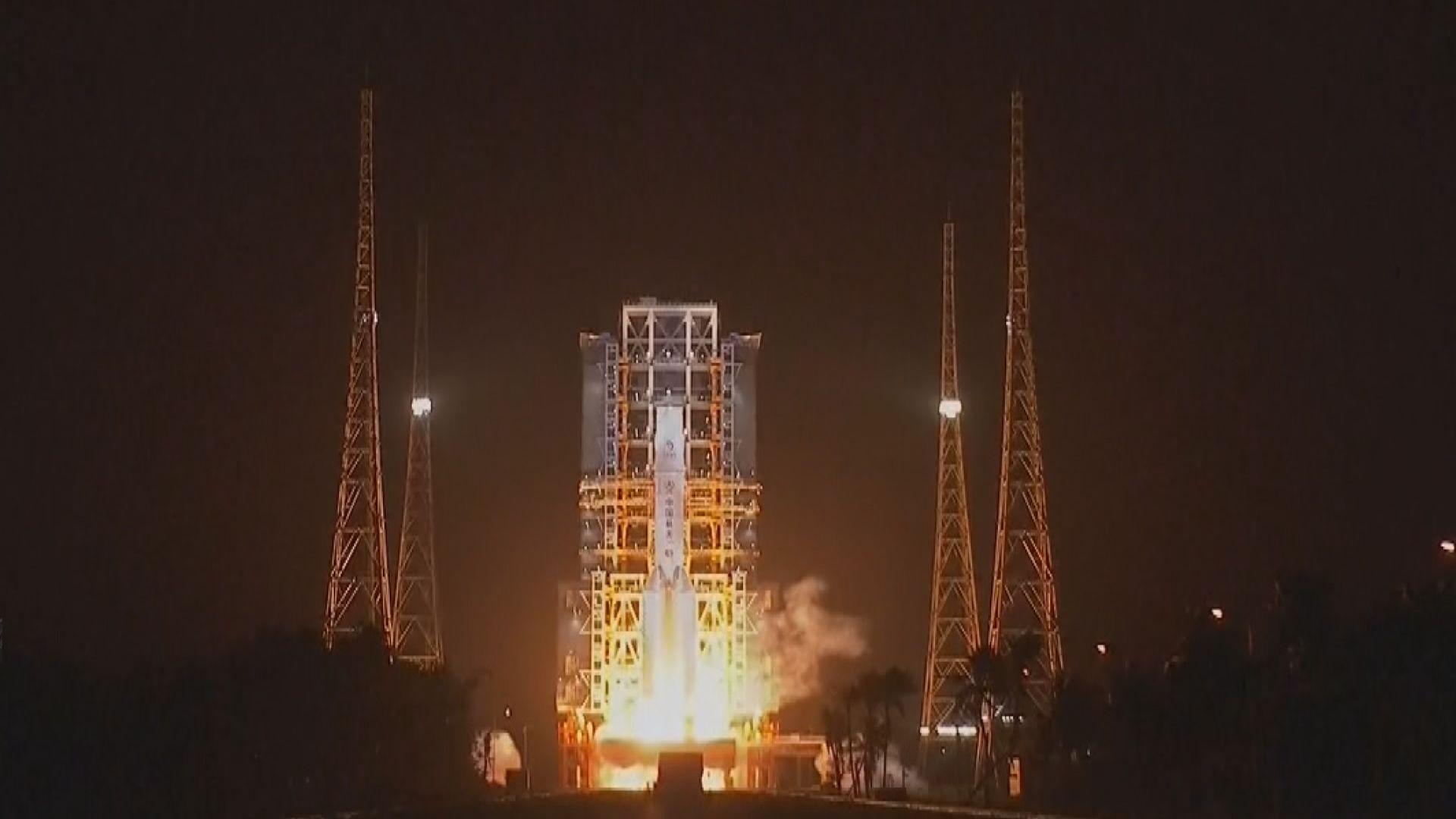 【23天之旅】長征火箭搭載嫦娥五號探測器升空 將採集月球土壤樣本