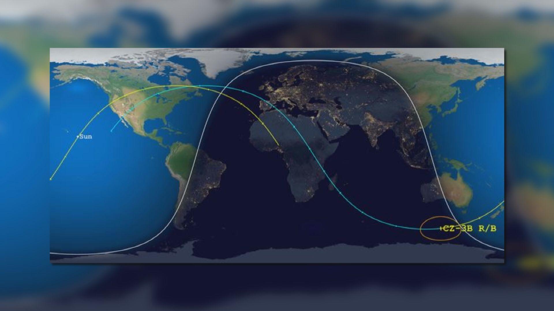 長征五號部分殘骸將墜落地面 歐美多國正追蹤火箭位置