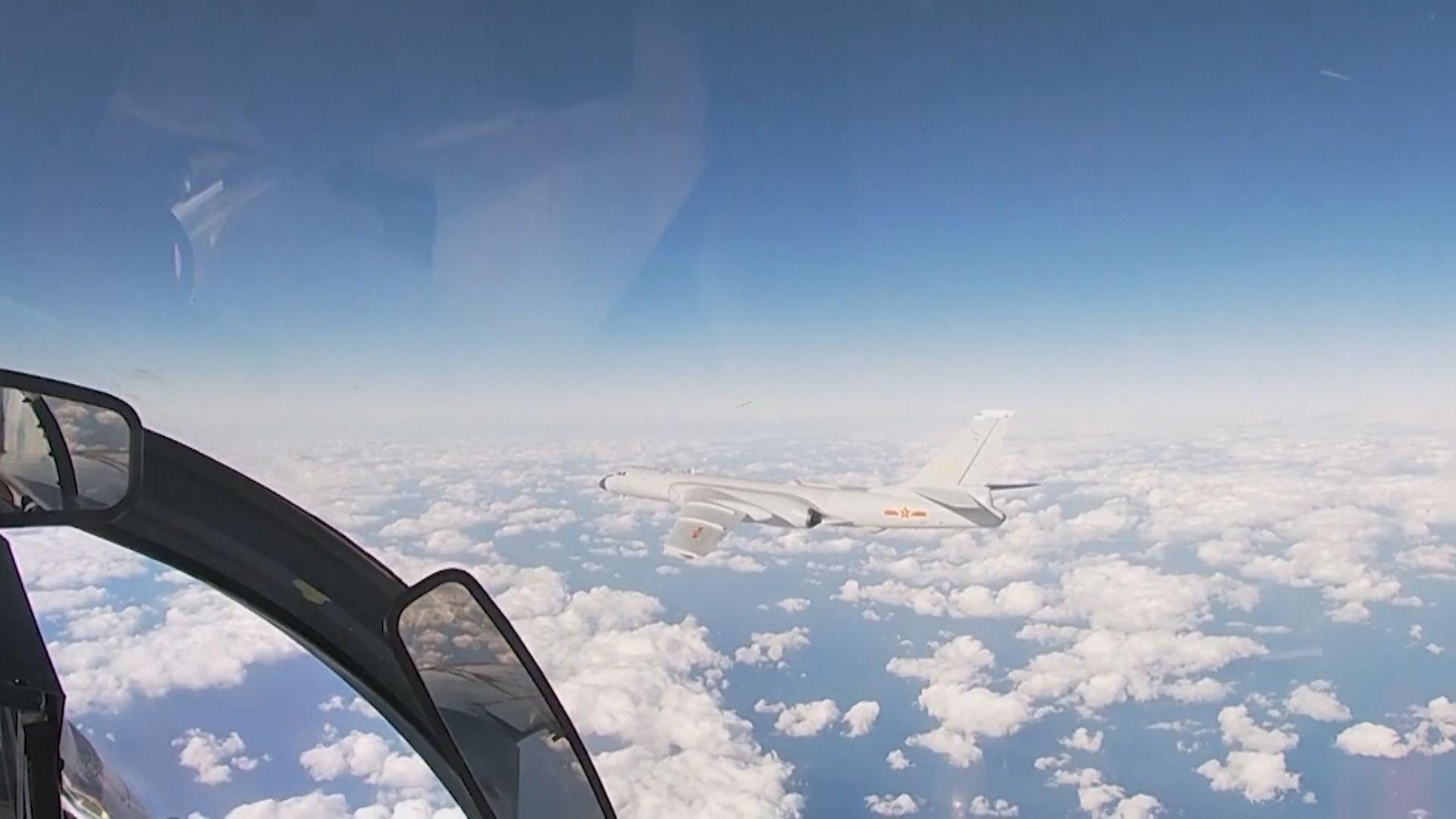 中俄軍機聯合空中戰略巡航 中方指沒進入他國領空