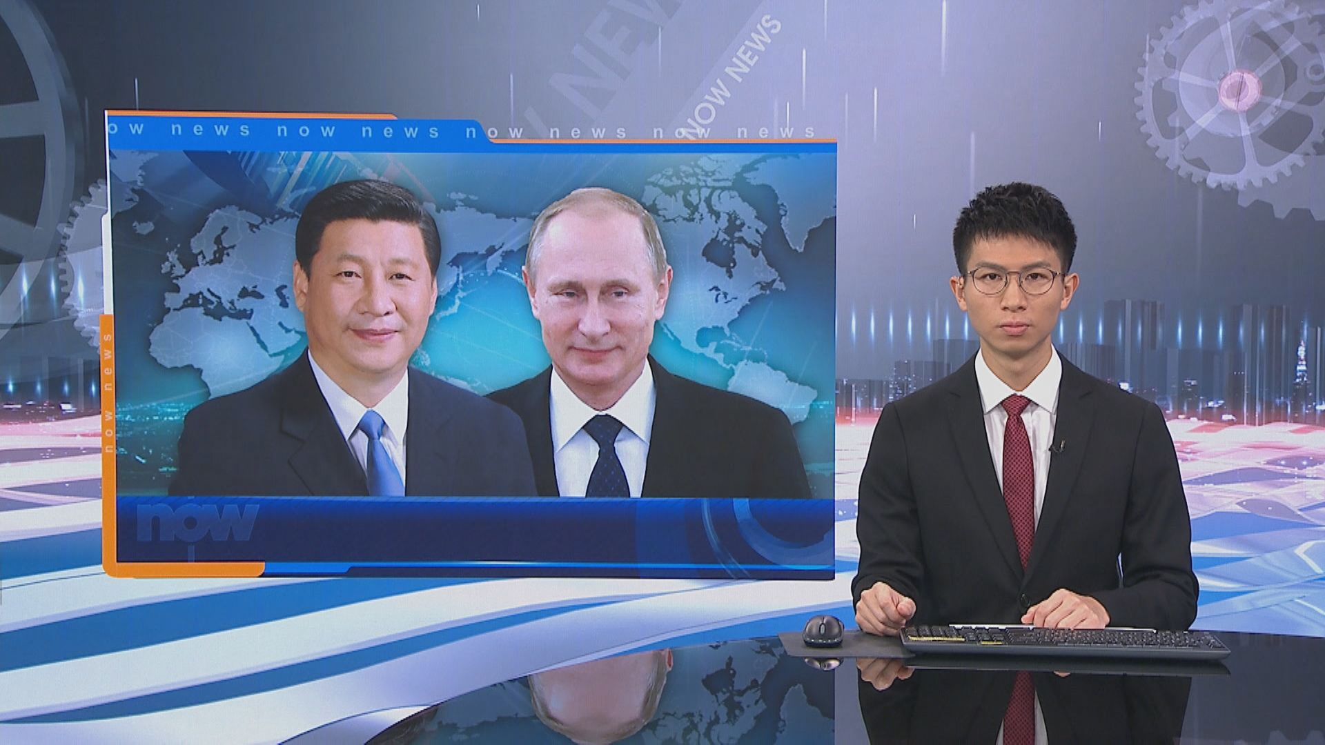 習近平與普京通電話 稱來年兩國要加強戰略協作