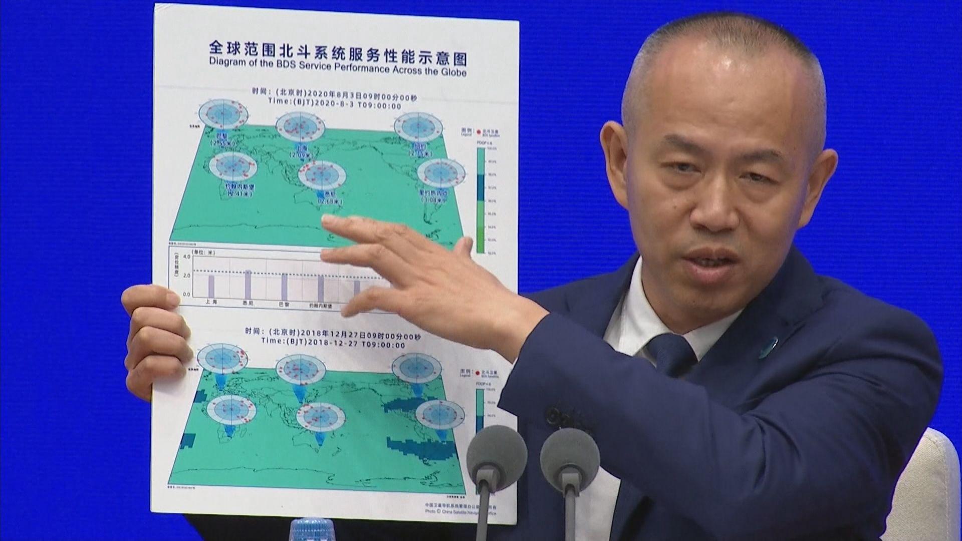中國北斗三號衛星導航系統上周五開通