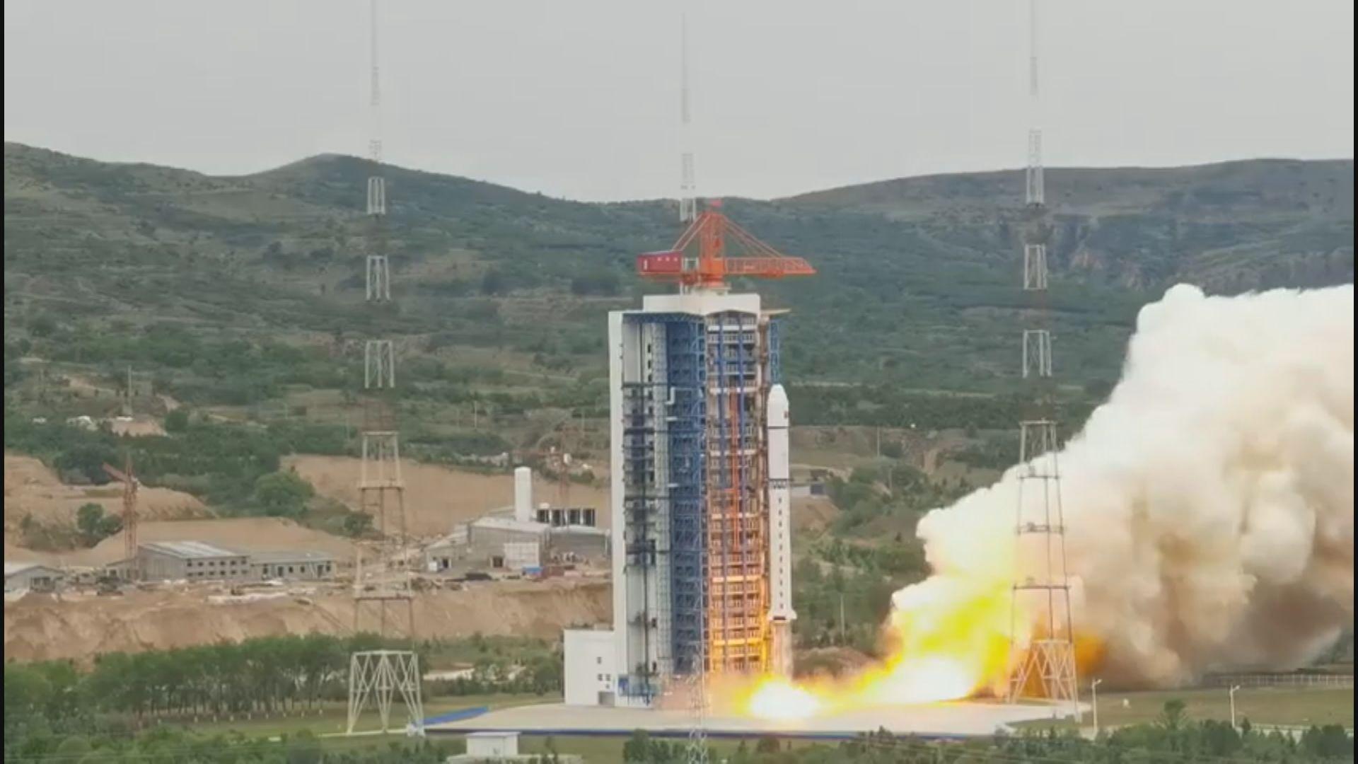 中國成功發射北京三號衛星