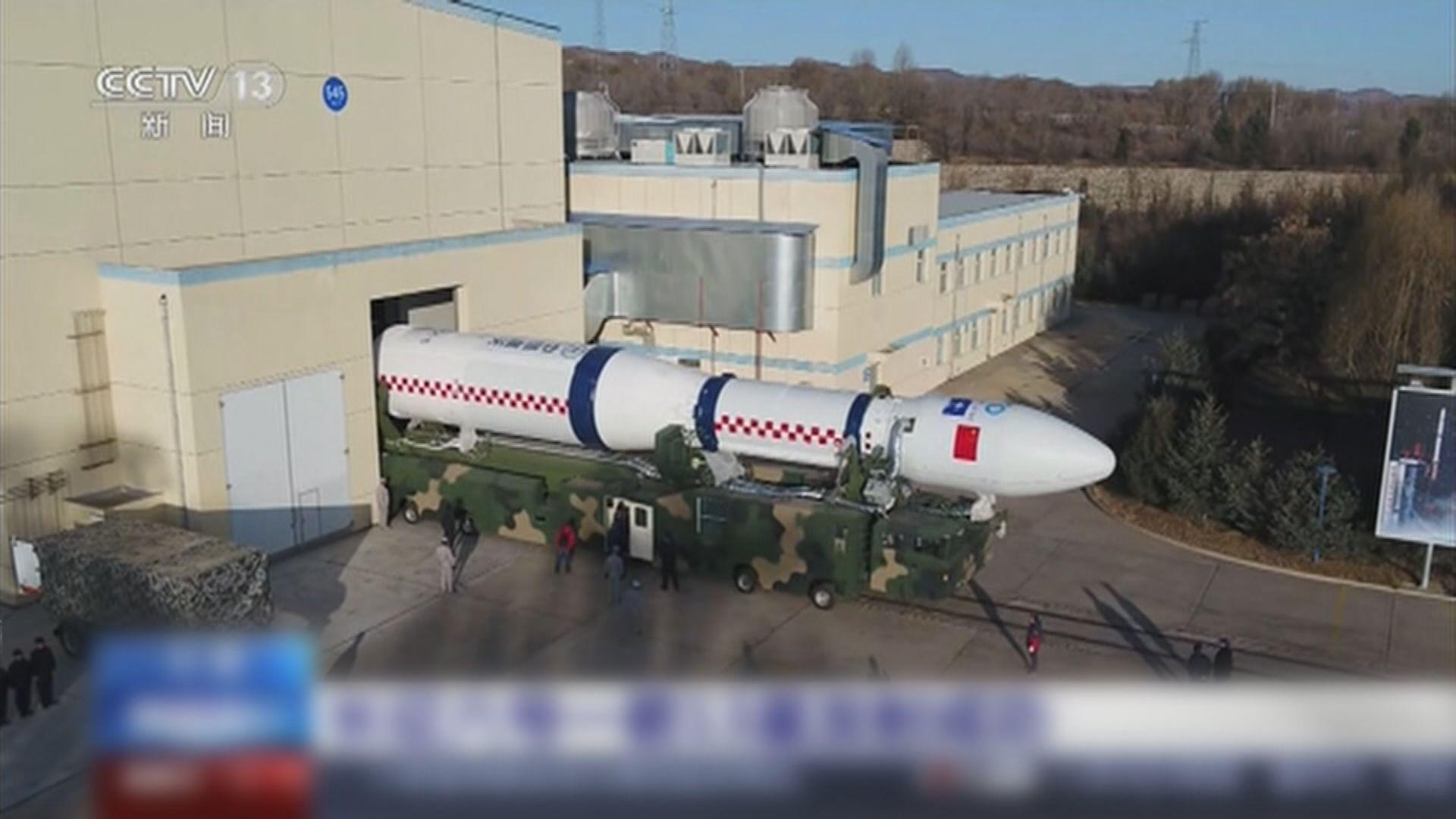 中國長征火箭成功發射實現「一箭十三星」