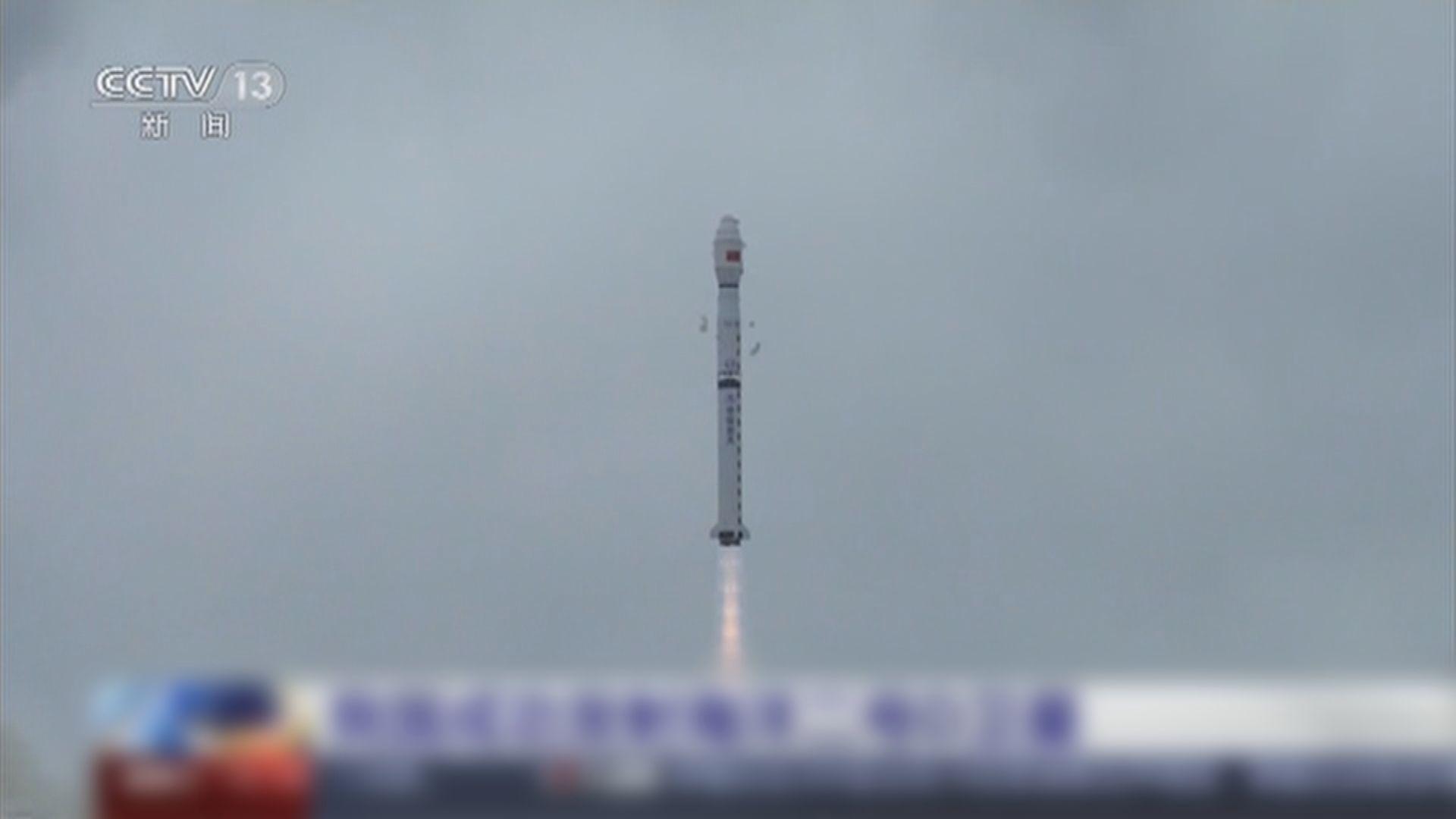 中國成功發射新一顆海洋監測衛星