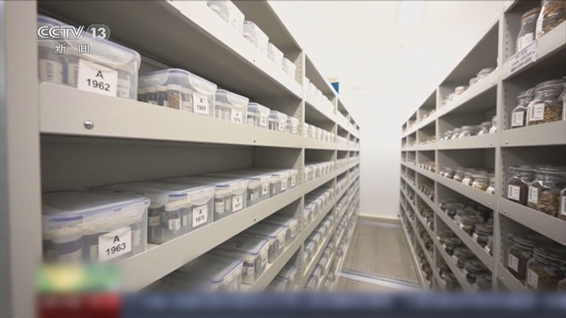 於雲南昆明的亞洲最大「種子銀行」儲存逾萬種種子