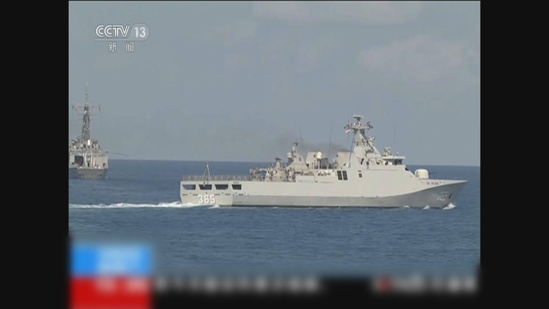 中國海軍派出黃山艦參與澳洲卡卡杜聯合演練