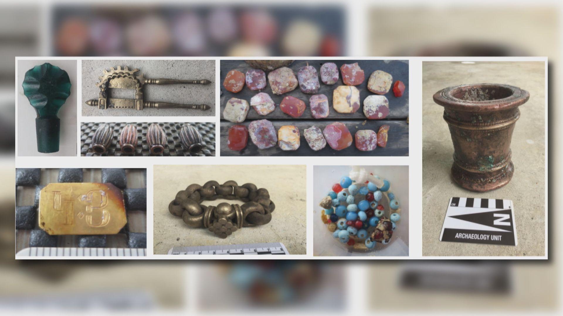 新加坡海域兩艘沉船打撈出九噸文物