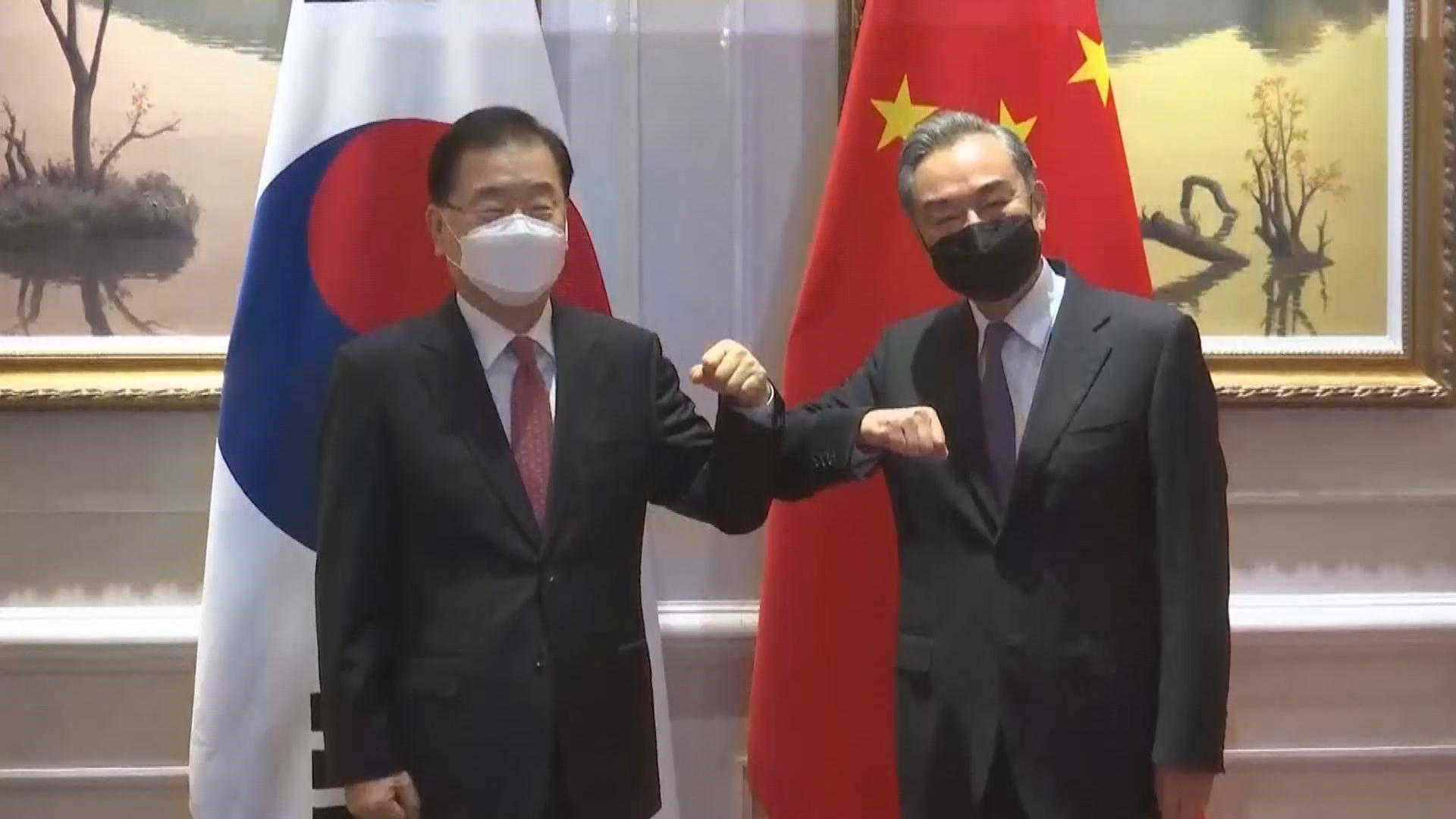 中韓外長下周三首爾會晤