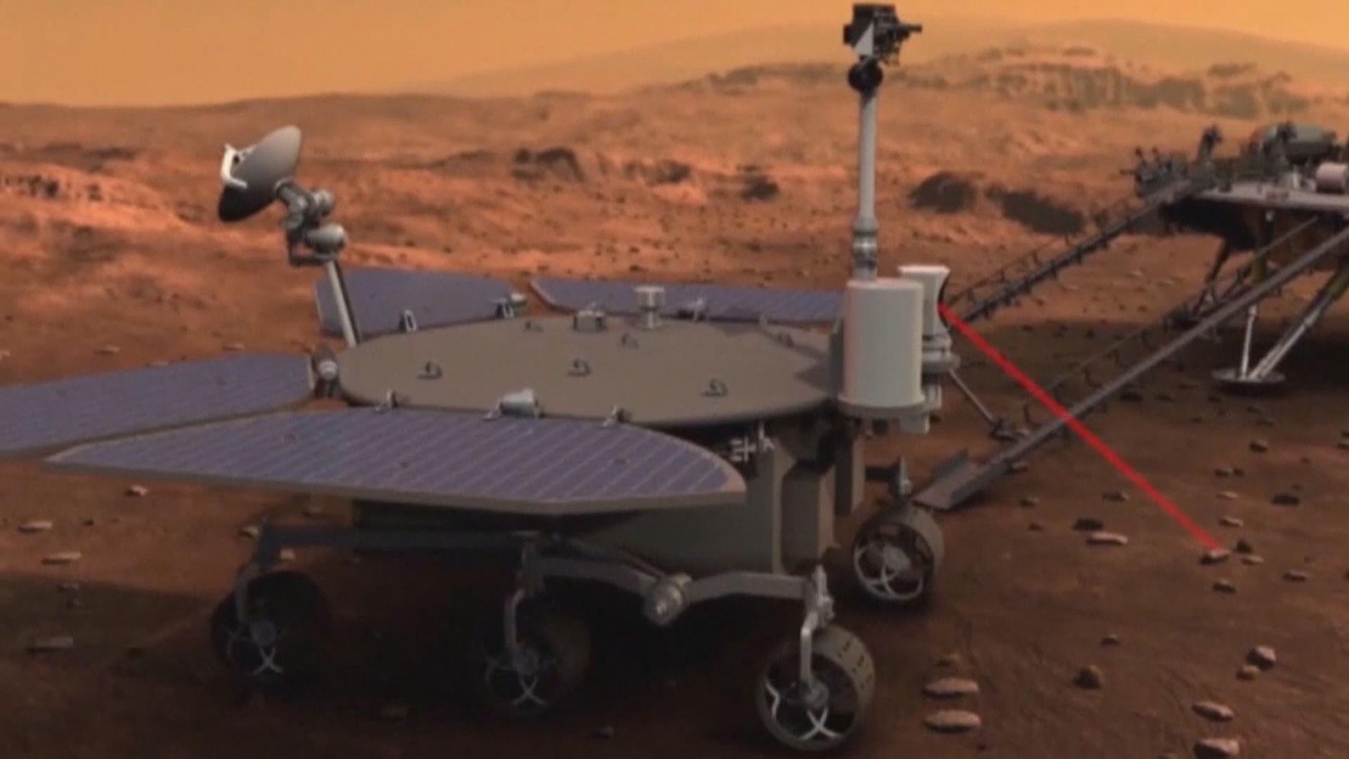 中國首輛火星車命名為「祝融號」